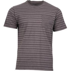 United By Blue Standard Stripe Maglietta a maniche corte Uomo grigio